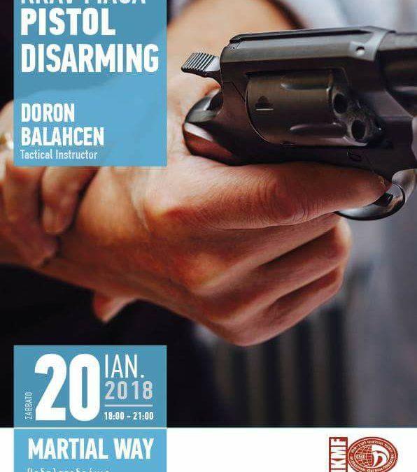 Pistol Disarming Seminar Review!